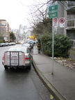 Typical Vancouver street overcrowded with street signs :-)