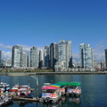 Yaletown view from Granville Island