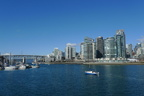 View of Yaletown from False Creek South