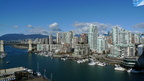Downtown view over False Creek from Granville Bridge